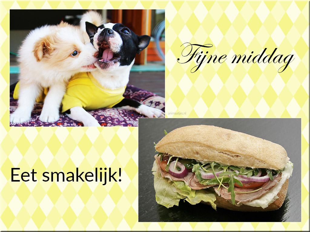 Eet smakelijk Fijne middag Facebook plaatjes Smakelijk eten