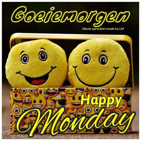 maandag Facebook plaatjes goeiemorgen happy monday