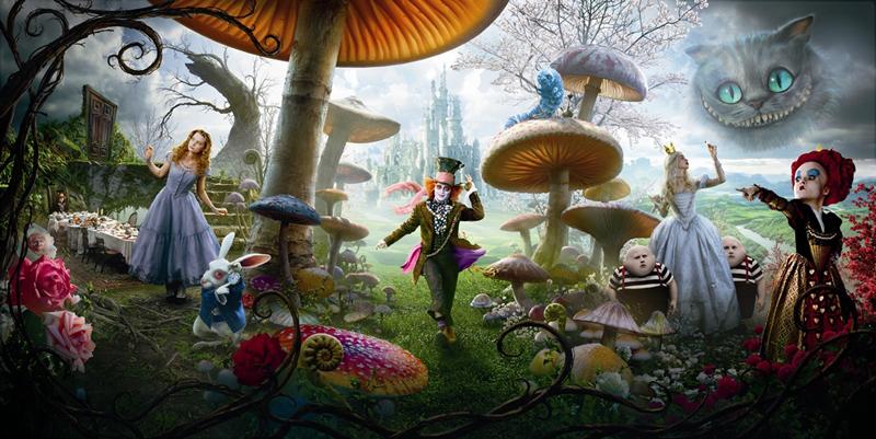 Alice in wonderland Plaatjes