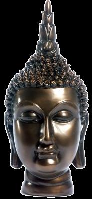Boeddha beeld zilver