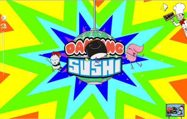 Plaatjes Dancing Sushi