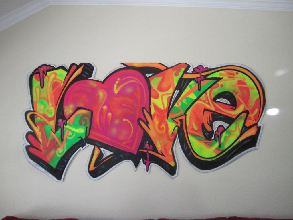 Plaatje graffiti for Immagini di murales e graffiti