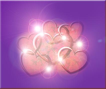 Afbeeldingen Glitter Hartjes