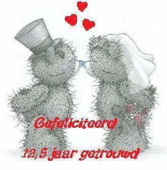 12½ jaar getrouwd Felicitatie 12 5 Jaar Huwelijk   ARCHIDEV 12½ jaar getrouwd