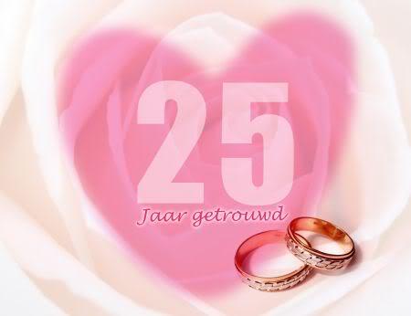 Huwelijk 25 Jaar Plaatjes En Animatie Gifs Animaatjes Nl