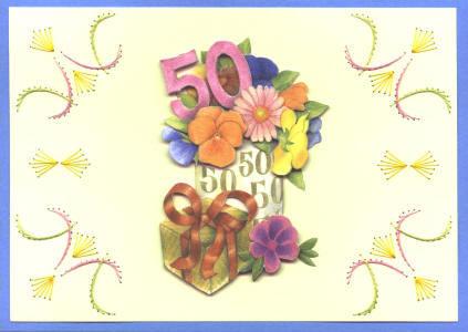 Huwelijk 50 jaar plaatjes