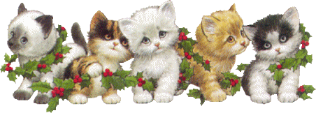 Kerst Katten Plaatjes Animaatjes Nl