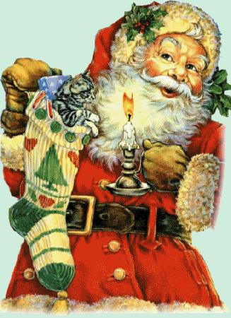 Plaatjes kerstmannen