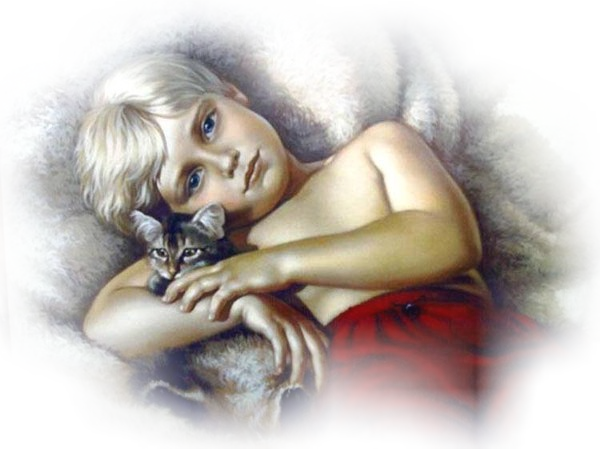 kind met katje