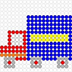 Plaatjes Kralenplank voertuigen