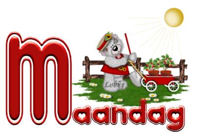 Plaatje Maandag 187 Animaatjes Nl