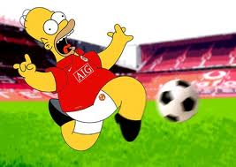 Plaatjes Manchester united Homer Simpson Manchester United
