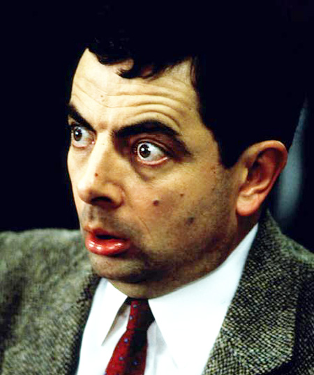 Plaatjes Mr Bean