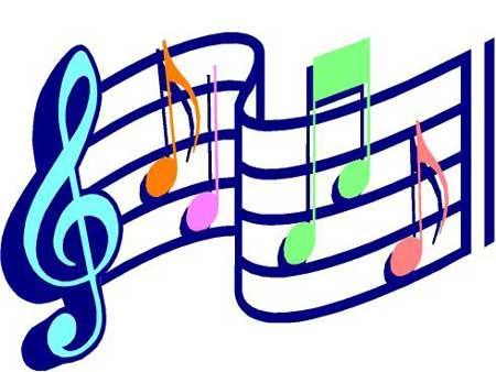 Plaatjes Muziek noten