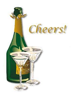 Verjaardagskaarten Afbeeldingen Champagne