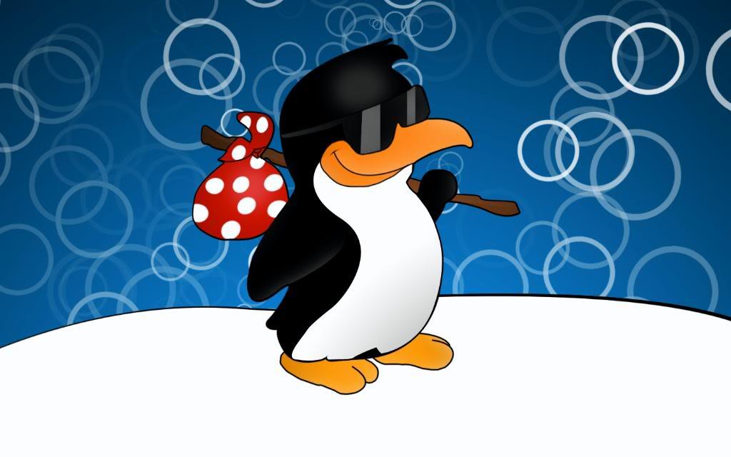 Пингвин прикольный картинки