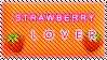 Plaatjes Postzegels aardbei