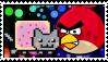 Plaatjes Postzegels angry birds