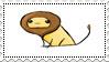 Plaatjes Postzegels leeuw