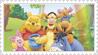 Plaatjes Postzegels winnie de pooh
