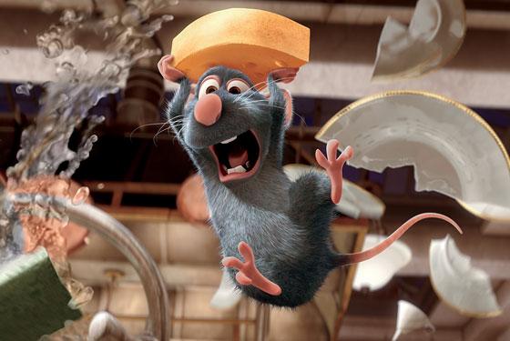 Ratatouille Plaatjes