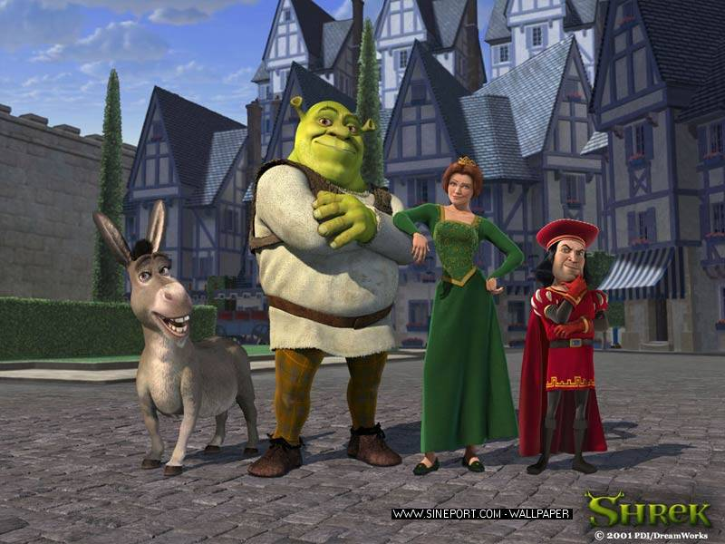 Shrek Plaatjes
