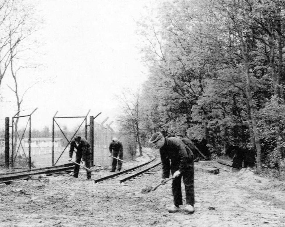 efteling aanleg spoor ca1968