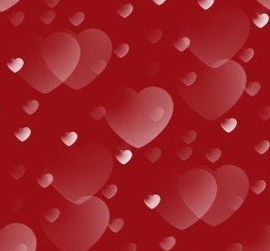 rode hartjes achtergrond