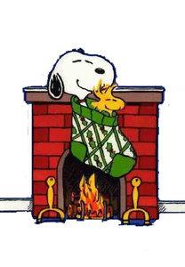 Afbeeldingen Snoopy Kerst