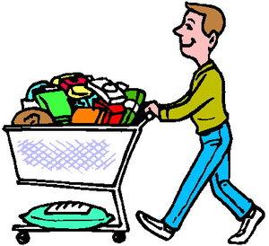 Cliparts Eten en drinken Supermarkt