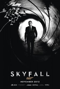 Films en series Films Skyfall Poster James Bond Met Skyfall 007 Cover
