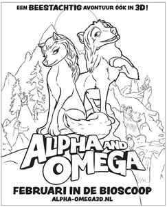 Alpha En Omega 3d Kleurplaten Animaatjes Nl