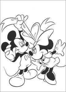 Minnie Mouse Kleurplaten Animaatjes Nl