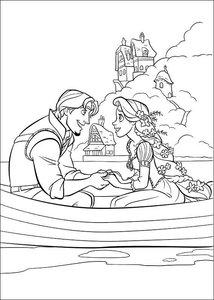 Rapunzel Kleurplaten Animaatjes Nl