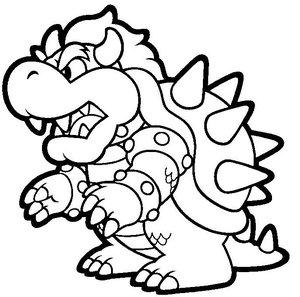 Kleurplaten Mario En Luigi.Mario Kleurplaten Animaatjes Nl