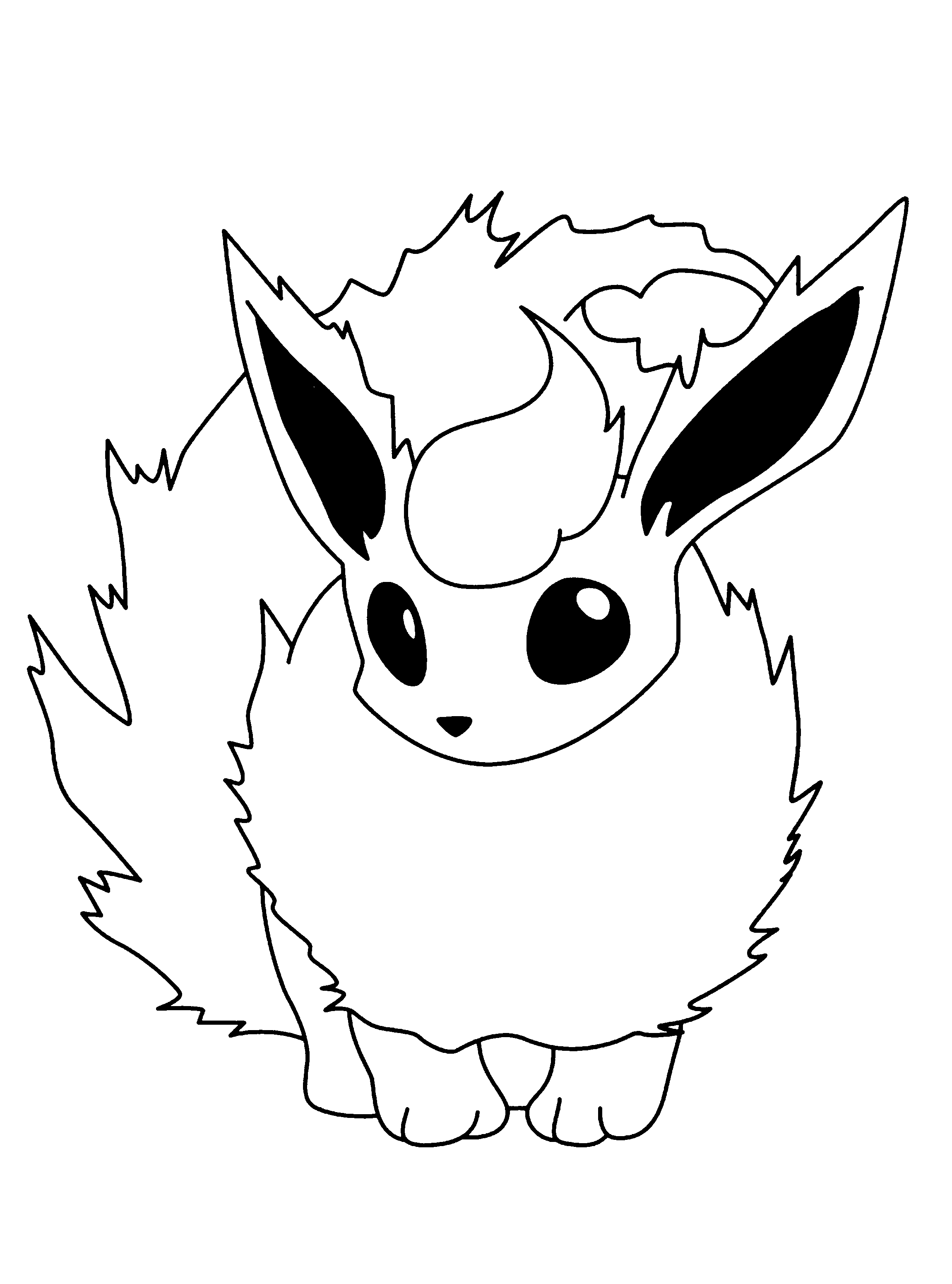 Pokemon Kleurplaten 187 Animaatjes Nl