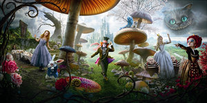Alice in wonderland Plaatjes Alice In Wonderland