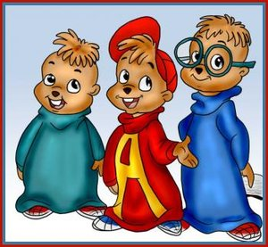 Plaatjes Alvin and the chipmunks Cartoon Chipmunk Broers