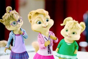 Plaatjes Alvin and the chipmunks Meisjes Alvin And The Chipmunks