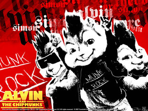 Plaatjes Alvin and the chipmunks Alvin And The Chipmunks In Stoere Stijl