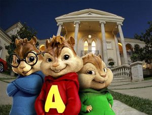 Plaatjes Alvin and the chipmunks Chipmunks Voor Hun Huis