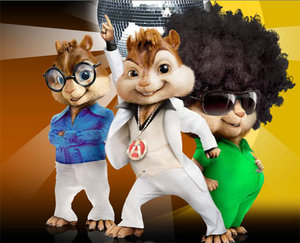 Plaatjes Alvin and the chipmunks Alvin And The Chipmunks Met Een Discobol