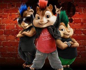 Plaatjes Alvin and the chipmunks Alvin And The Chipmunks Met Punk Haar