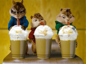 Plaatjes Alvin and the chipmunks Alvin And The Chipmunks Een Milkshake Drinken