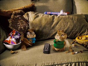 Plaatjes Alvin and the chipmunks Alvin And The Chipmunks Op De Bank Eten