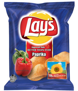 Chips Plaatjes Paprika Chips Lays