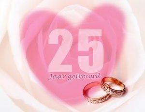 25 jaar getrouwd ringen Huwelijk 25 Jaar Plaatjes en Animatie GIFs » Animaatjes.nl 25 jaar getrouwd ringen