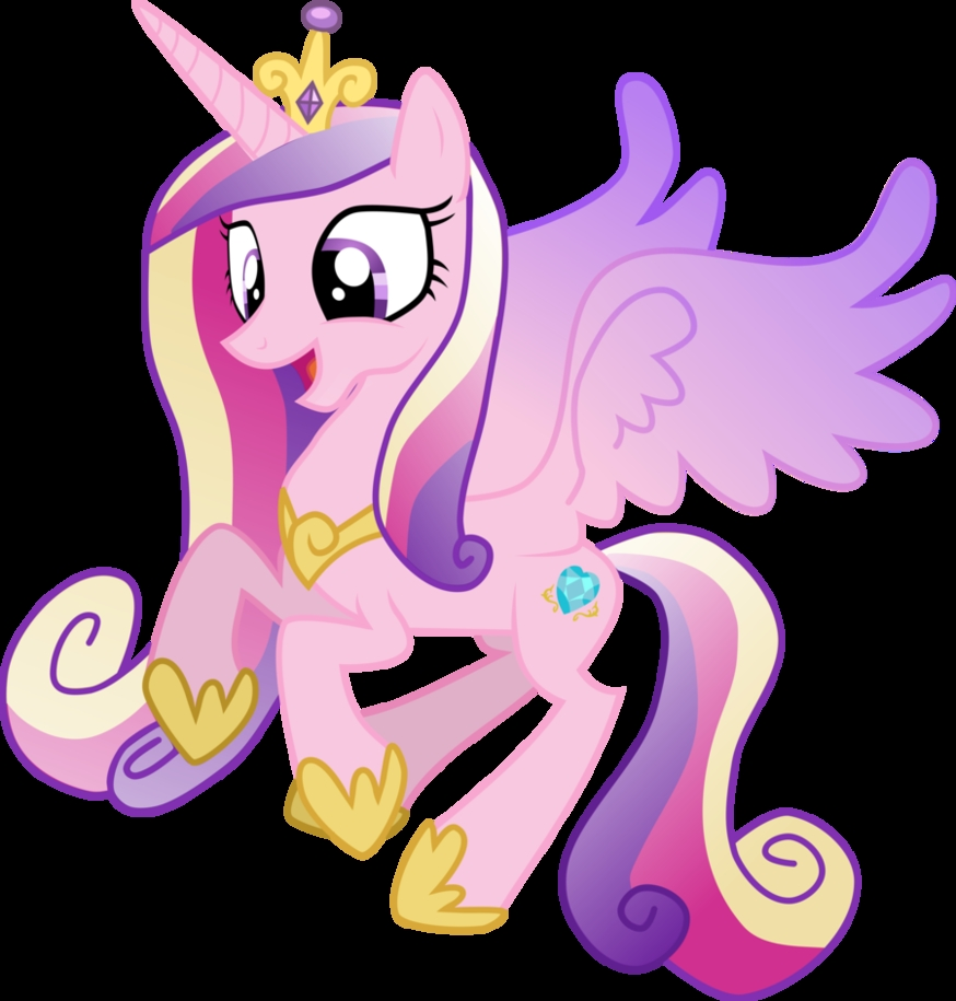 Plaatjes My little pony Princes Cadence