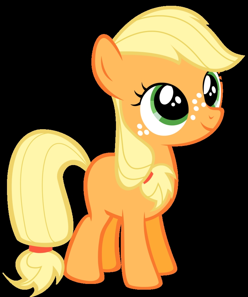 Plaatjes My little pony Applejack Veulen