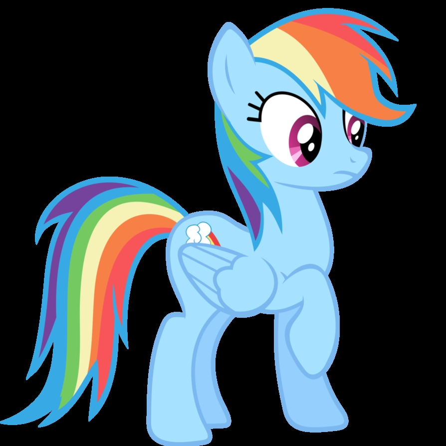 Plaatjes My little pony Rainbow Dash